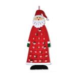 Handmade Felt Christmas Tree Decoration Children DIY Christmas Decorations, Style: Red Calendar