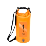 AFISHTOUR FW2061 5L Waterproof Drifting Stream Bag Folding Storage Bucket Package(Orange)