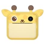 P1 Children Camera Printer Digital Toys Pocket Student Homework Mistakes Collections Printer, Style: Deer + 16G