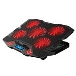 ICE COOREL K5 Laptop Radiator Computer Cooling Bracket, Colour: Standard Version (Black Red)