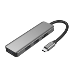 ICE COOREL H8 Multifunction USB HUB USB Interface Mobile Bracket, Number of interfaces: Card Reader 4 In 1