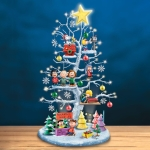 Desktop Christmas Tree Ornaments Holiday Decoration Gifts(Acrylic A)