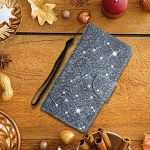 For Samsung Galaxy A02s US Edition Painted Pattern Horizontal Flip Leather Case with Holder & Card Slot & Wallet(Gypsophila)