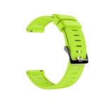 For Polar Grit X Silicone Official Buckle Replacement Wrist Strap Watchband(Lime Green)