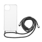 MOMAX All-inclusive TPU Shockproof Protective Case with Lanyard For iPhone 13(Transparent)