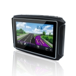 4.3 inch Waterproof Multi-function Portable Motorcycle GPS Voice Navigator Support TF Card, Oceania Map