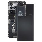 Glass Battery Back Cover for ZTE Nubia Z30 Pro(Black)
