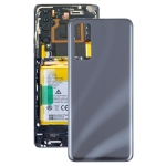 Glass Battery Back Cover for ZTE Axon 20 5G / Axon 20 4G A2121(Black)