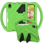EVA Flat Anti Falling Protective Case Shell with Holder For iPad mini 6 2021(Green)