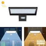 Outdoor Waterproof LED Street Lamp Landscape Energy Saving Spotlight Solar Light, Style: Body Sensing(Cold White Light)