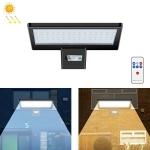 Outdoor Waterproof LED Street Lamp Landscape Energy Saving Spotlight Solar Light, Style: Remote Control+Sensor(Warm White Light)