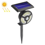 TG-TY088 72 LED Solar Wall Light Lawn Light Body Sensation Outdoor Garden Street Light(White Light)
